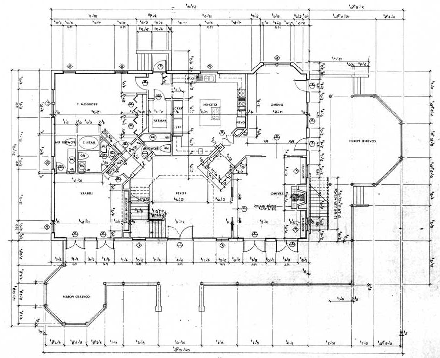 Cottage home plans photos Bed and breakfast floor plans