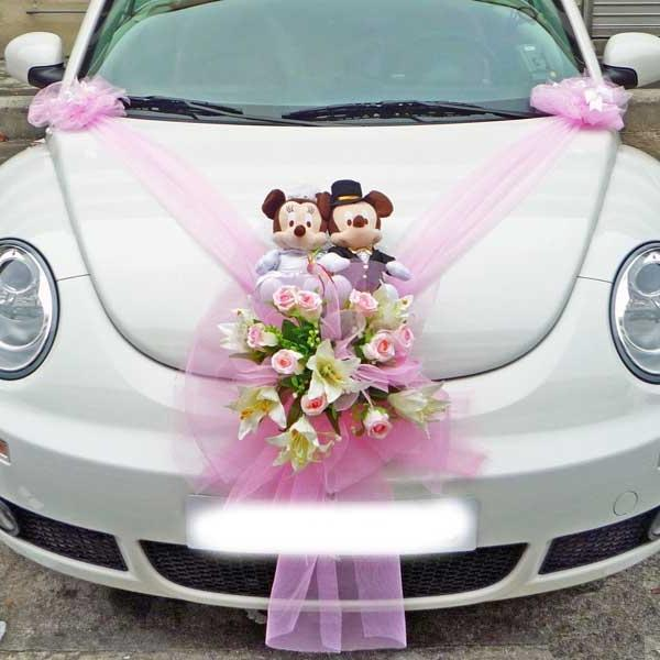 Car Decoration For Marriage Photos