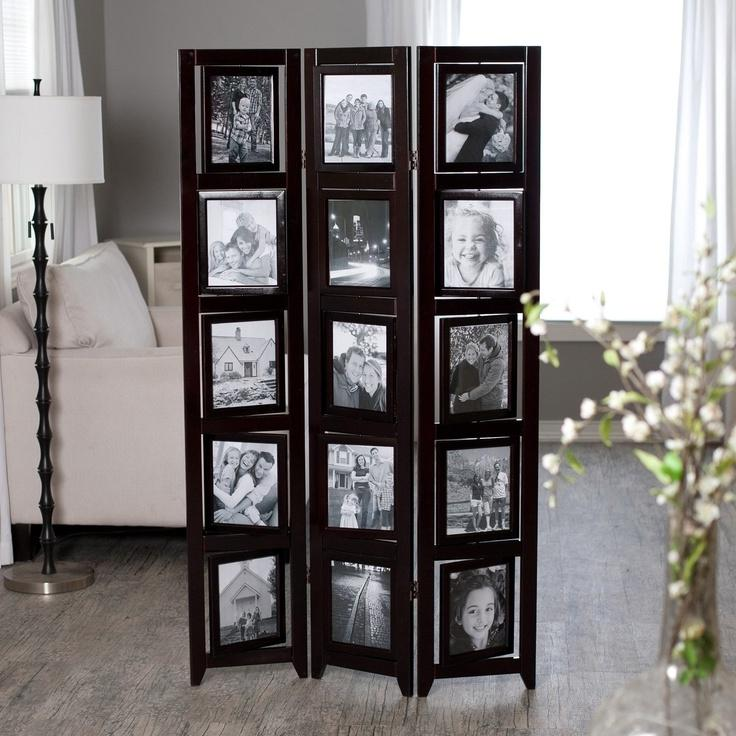 Room dividers with photo frames - Room divider picture frames ...