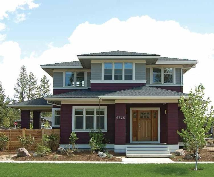 Prairie Style House Plans With Photos