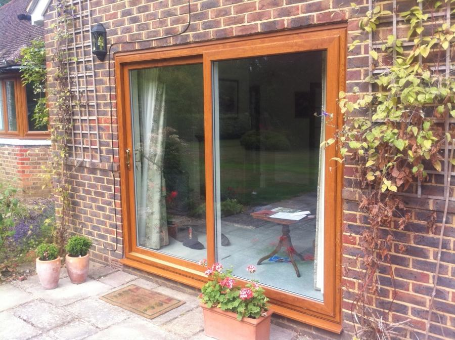 Sliding patio doors photos for Double patio doors