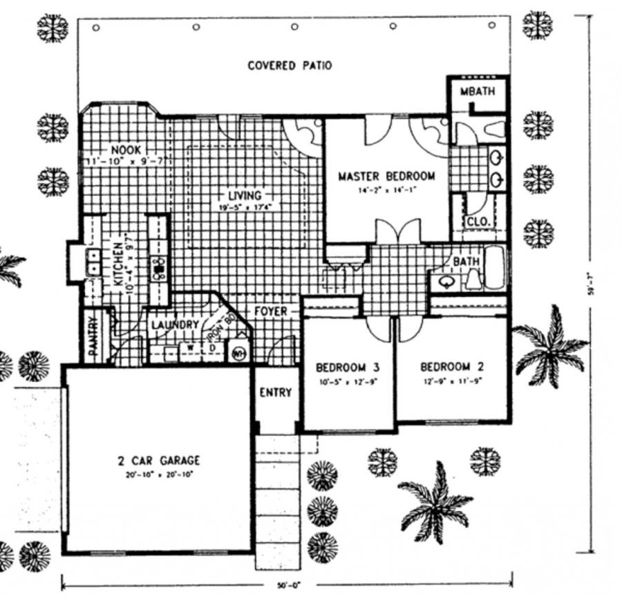 Southwestern House Plans Photos