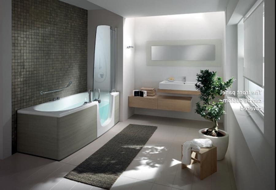 Bathroom, Fascinating Modern Bathrooms With Bathroom Cabinets And...