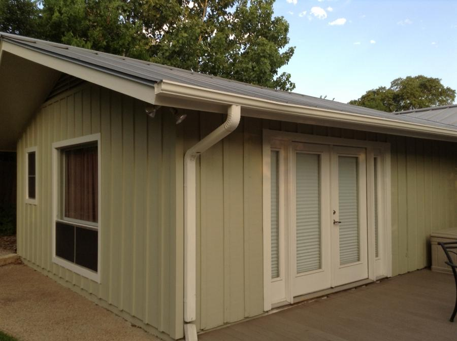 Photos of board and batten siding for Metal board and batten siding