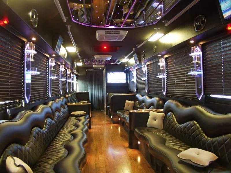 Tour bus interior photos Tour bus interior design