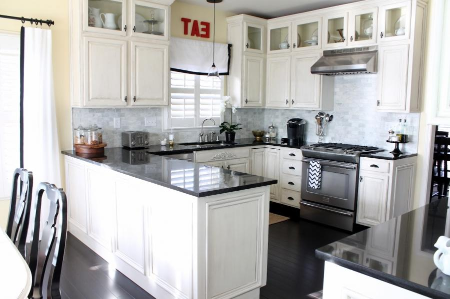 Kitchens With White Cabinets Impressive New Designs Soothing...