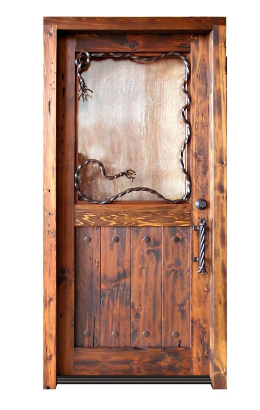 Entrance Door - Cowboy Cabin Entrance Door - 9025GPA