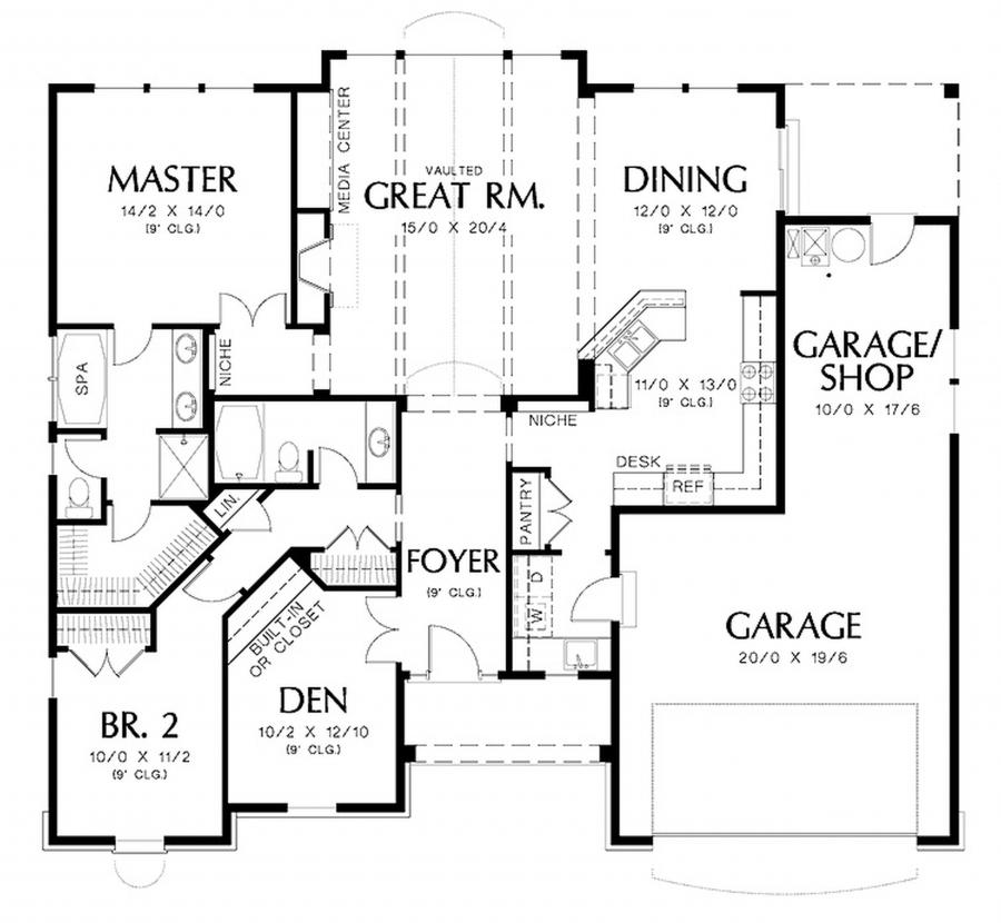 Small luxury house plans photos for Luxury garage plans