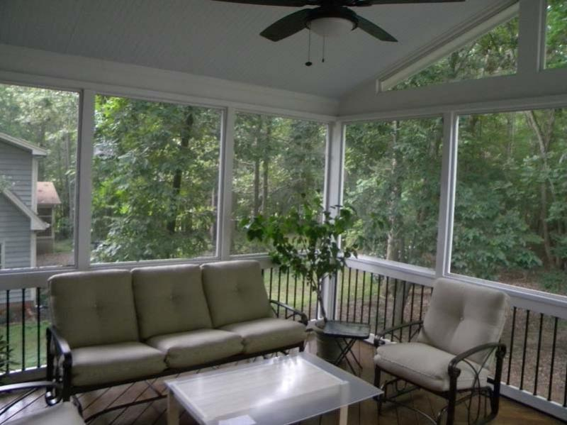 Interior Screened Porch : Screen porch interior photos