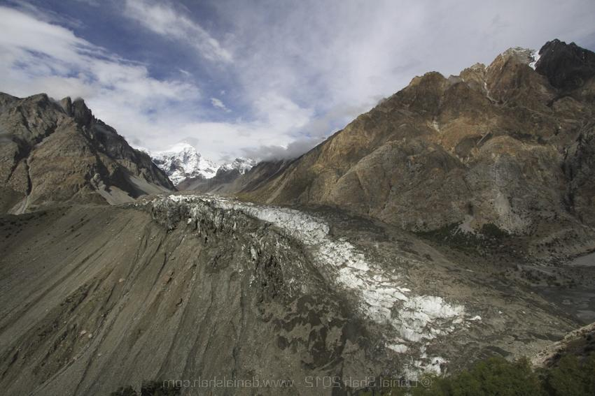 Chillinji glacier from top of a mountain, Wakhan Corridor Trek