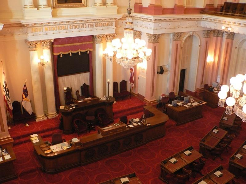 California Senate Floor