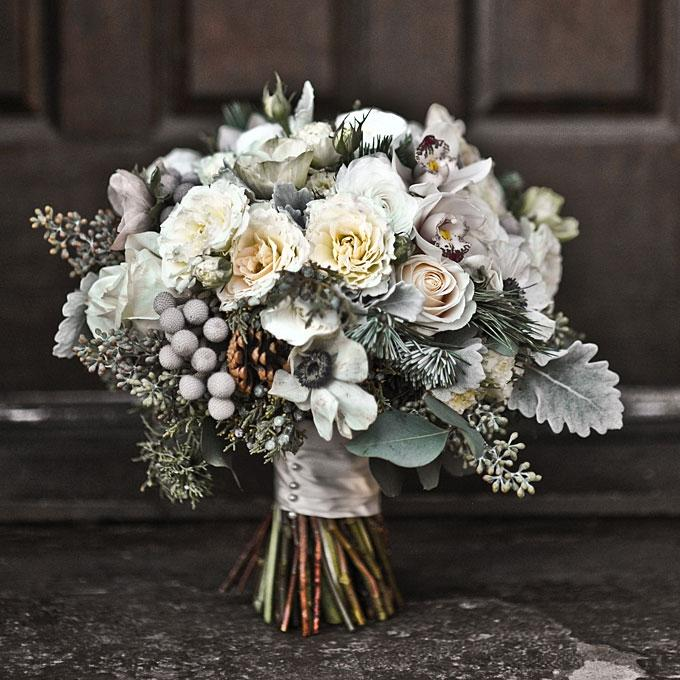 Photos of winter flower bouquets