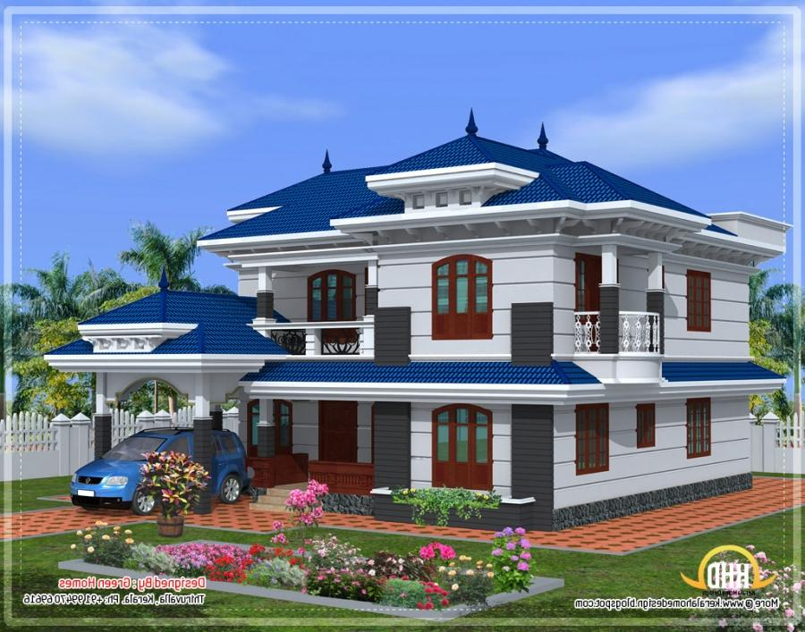Beautiful house plans with photos in kerala for Beautiful houses pictures in kerala