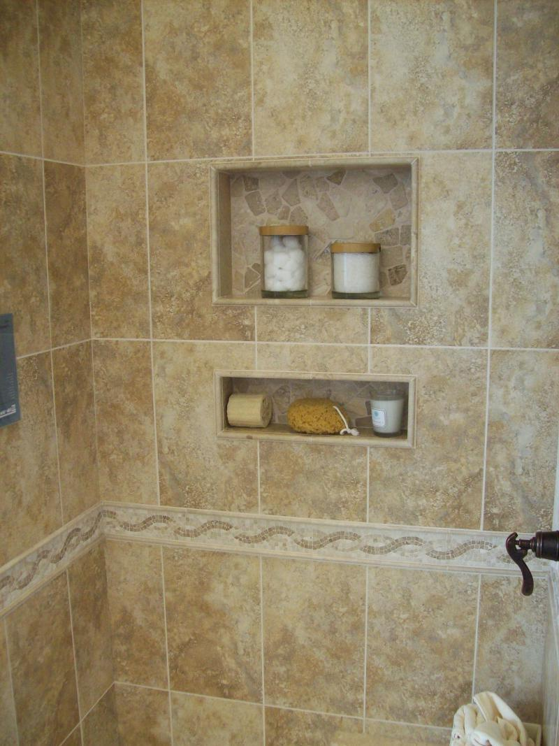 Ceramic Tile Shower Photos