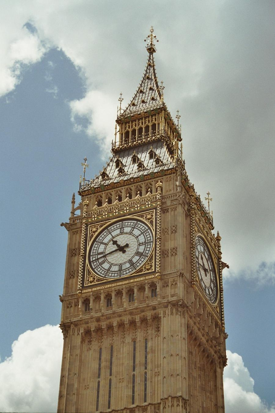 Big Photo Of Big Ben Clock Tower