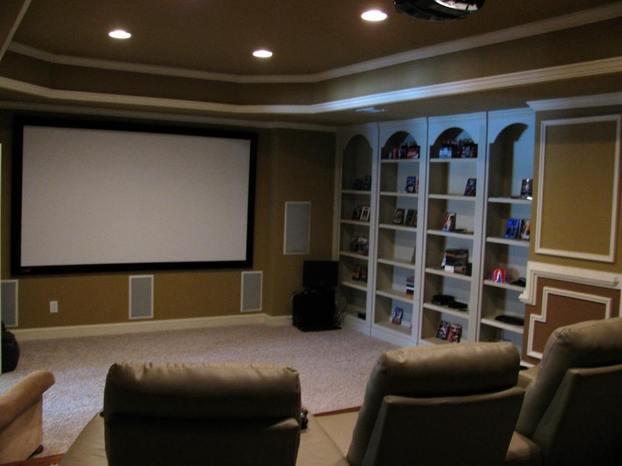 Photos Of Media Room