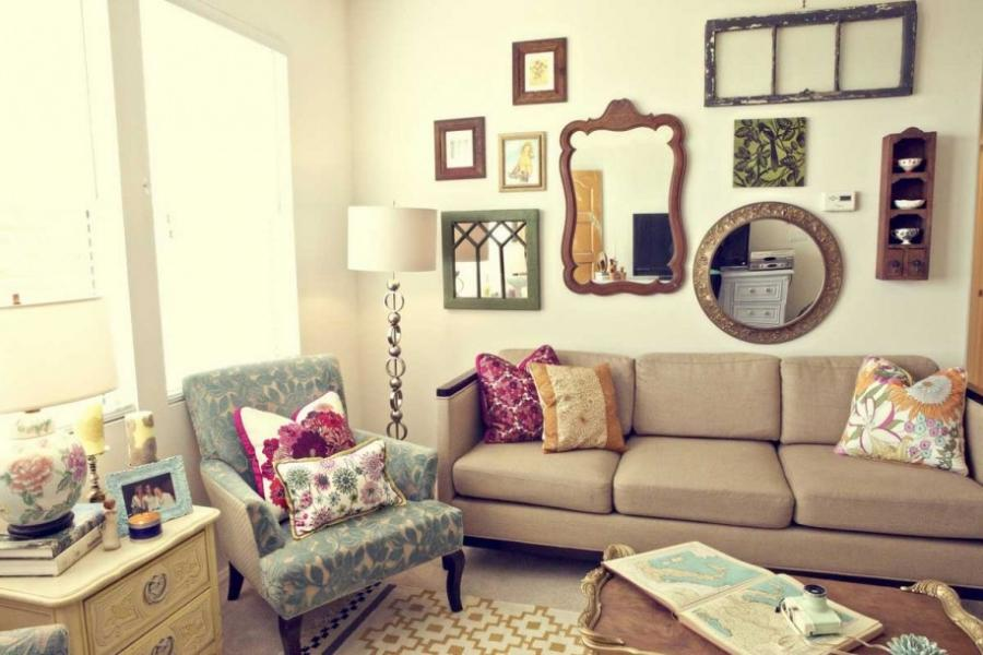 Sightly Vintage Apartment Decorating