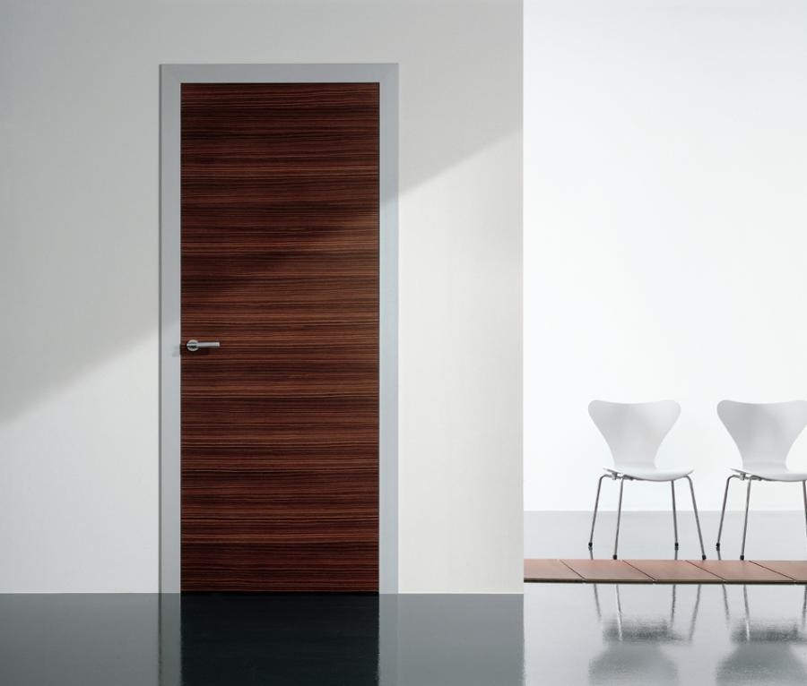 Modernus | Light Universal | Hinged Door | Palissandro Wood Slab...