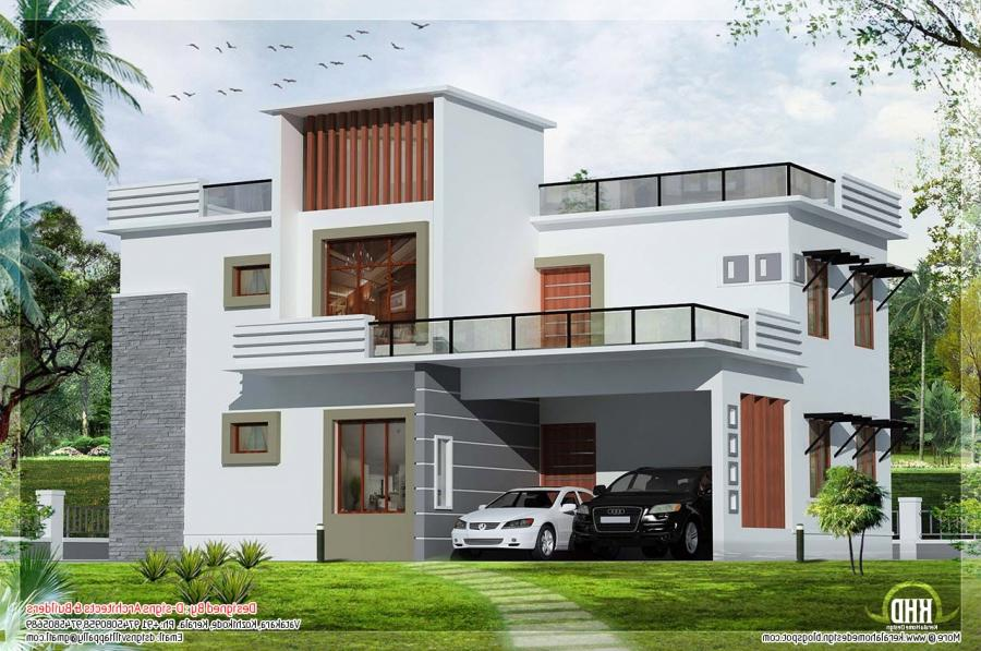 contemporary flat roof house u2013 Kerala home design and floor...