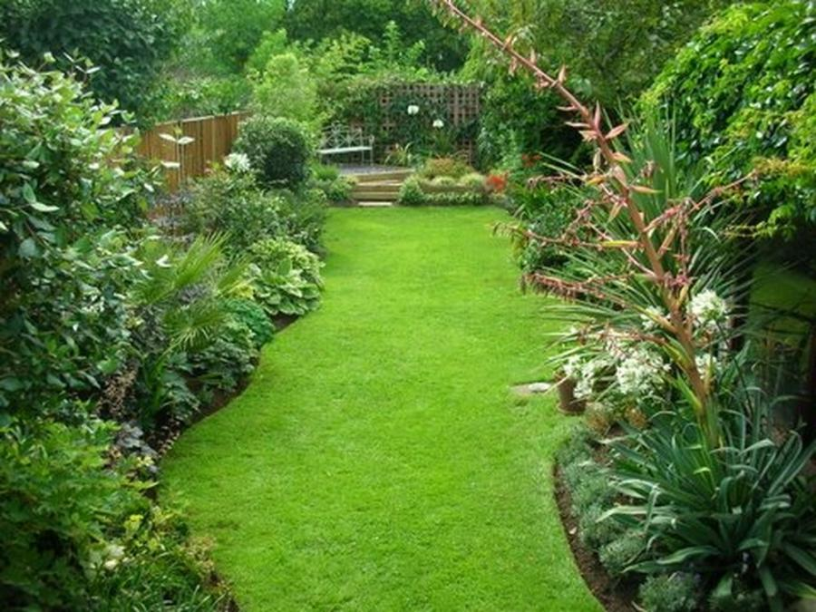 Cottage landscaping photos