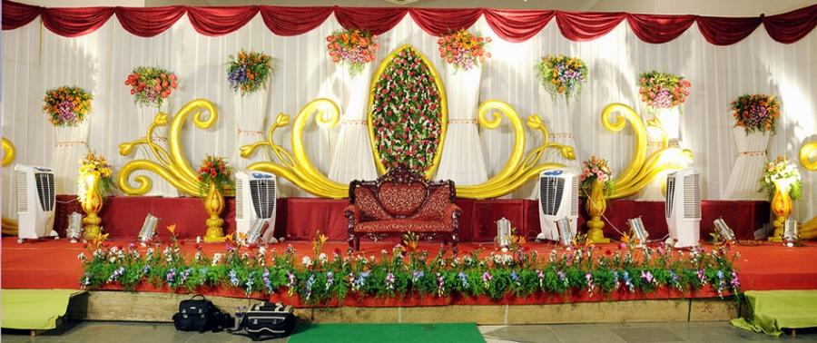 Stage decoration photos school function for Annual function decoration