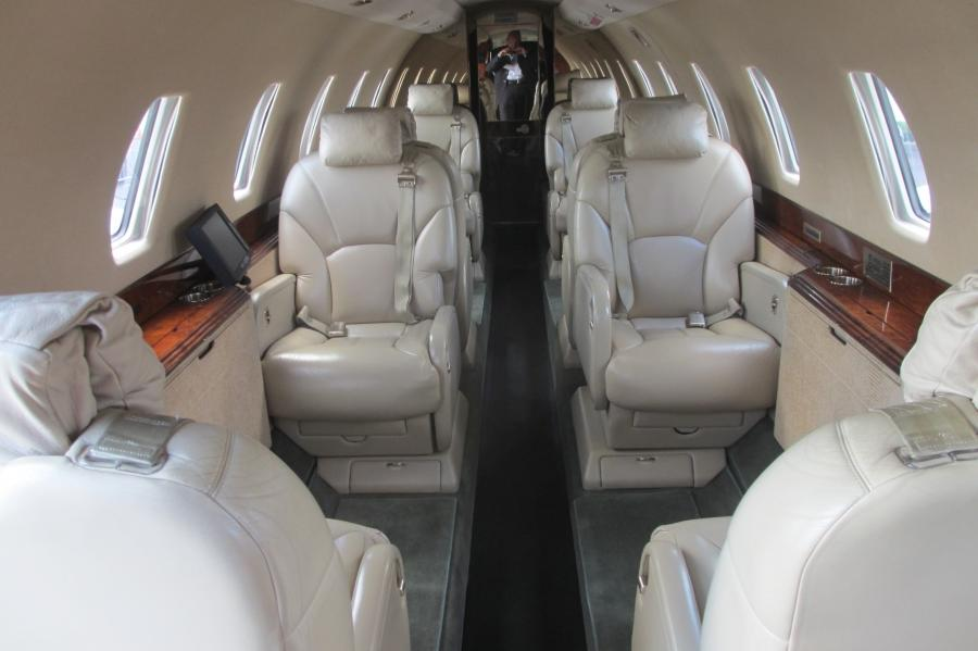 Cessna Citation X Interior Photos