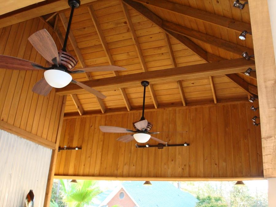 Pool House Ceiling
