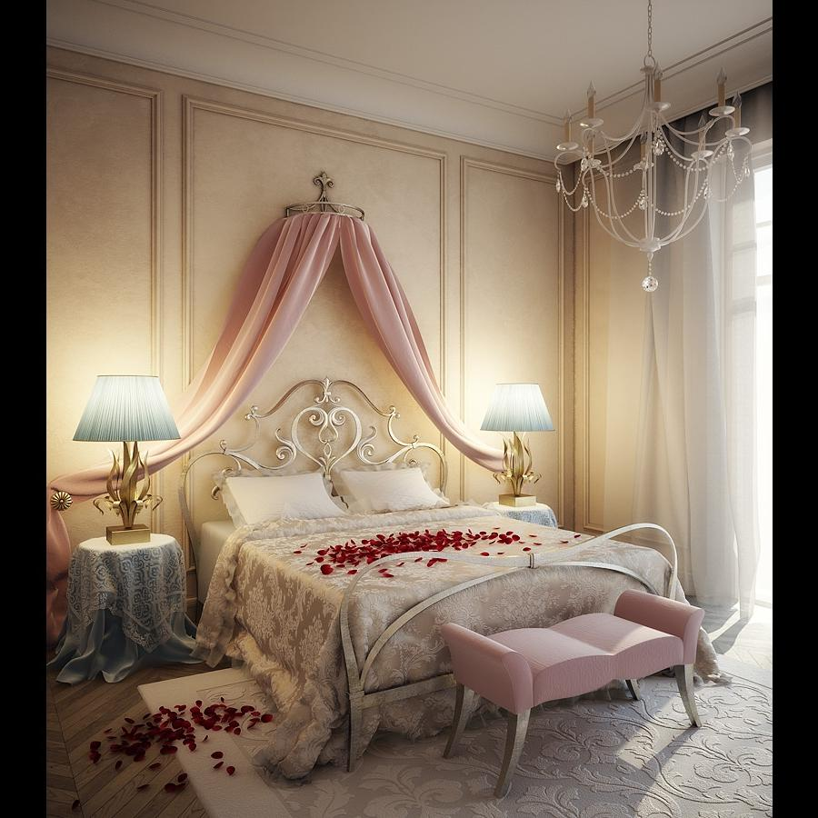 Romantic Bedrooms Photos