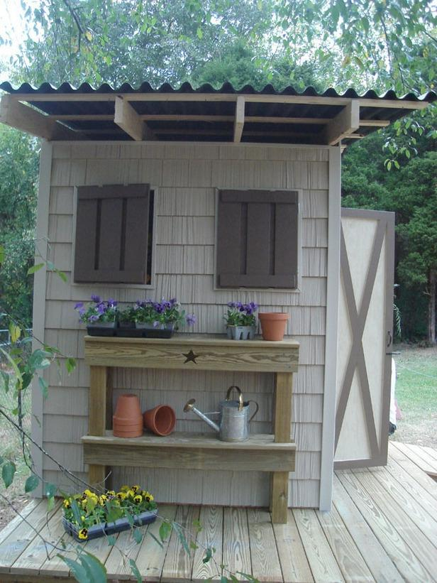 Garden shed ideas photos