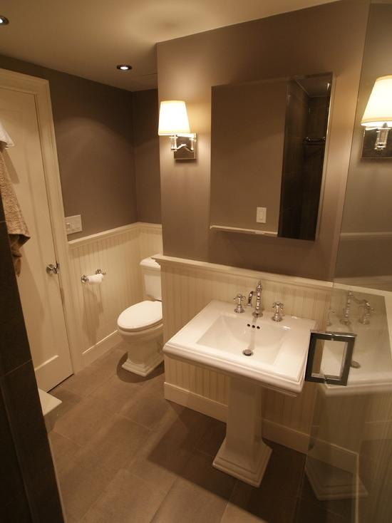Half bathroom remodeling photos - Bathroom remodel ideas with wainscoting ...
