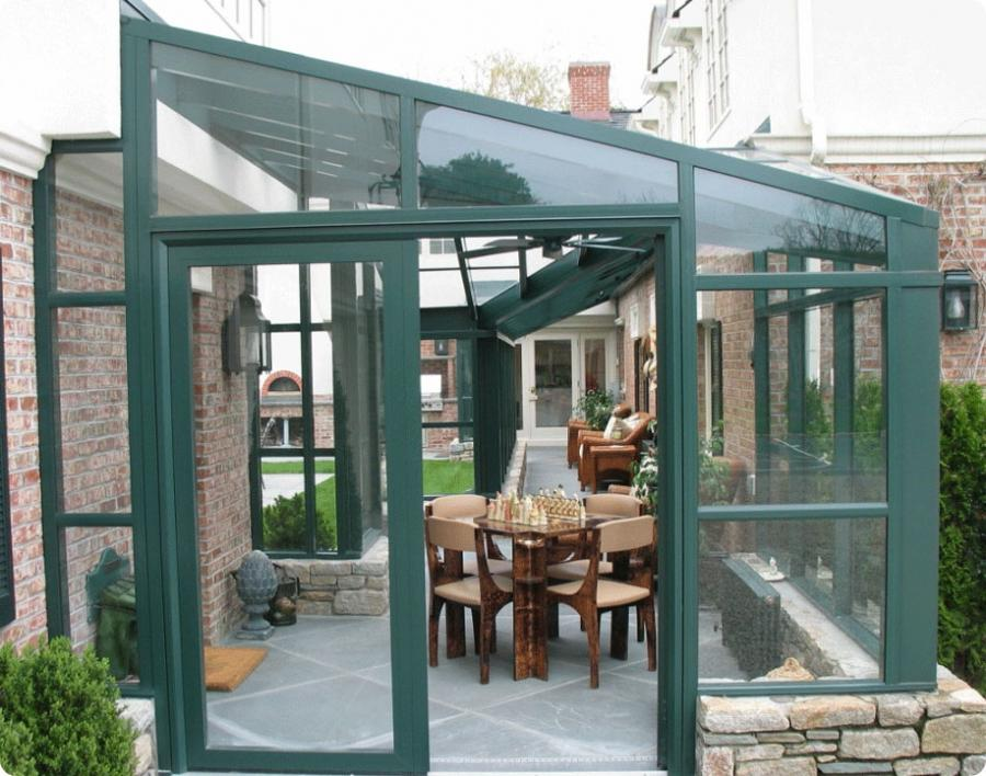 Breezeway Enclosed Glass Photo