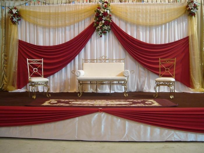 Simple Stage Decoration Photos