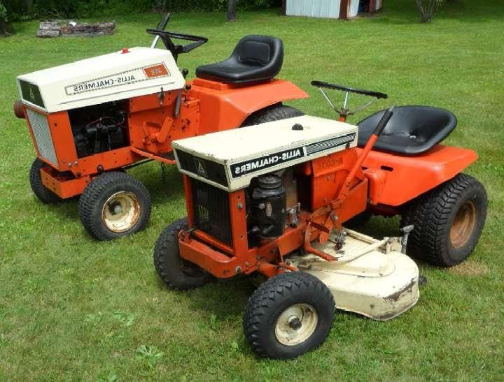 Allis Chalmers Garden Tractors : Older allis chalmers lawn garden tractor photos