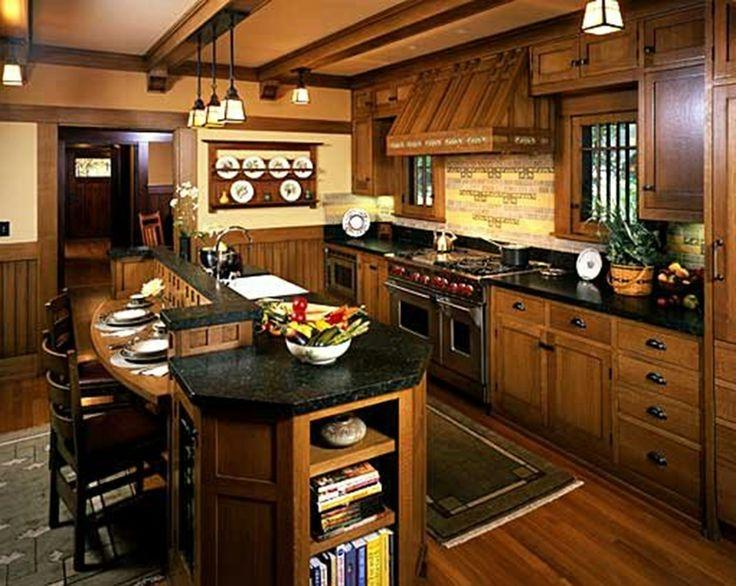 Craftsman Style Home Interior Designs For The Home Pinterest