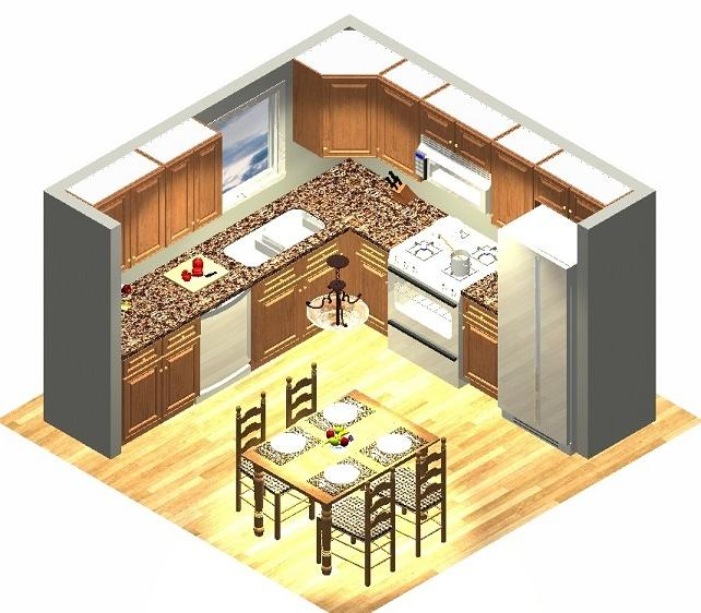 10x10 kitchen designs photos for What is the square footage of a 10x10 room