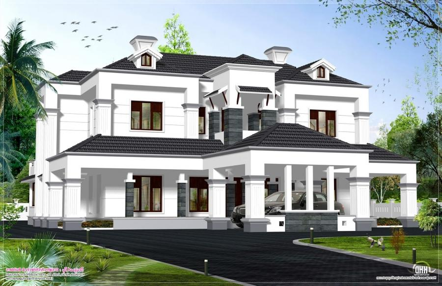 New model houses photos in kerala for Kerala new model house