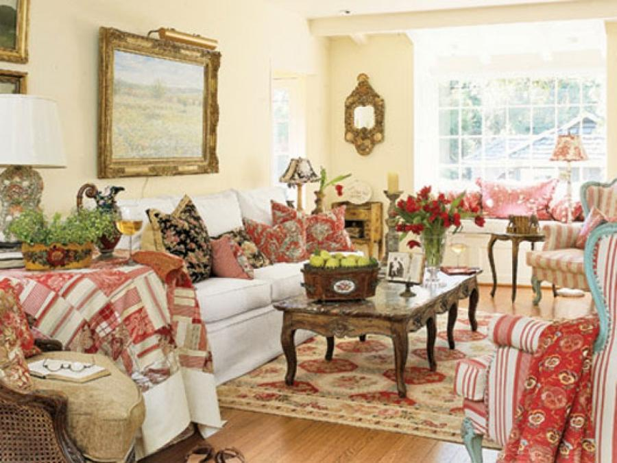awesome country cottage design living room decorating ideas source