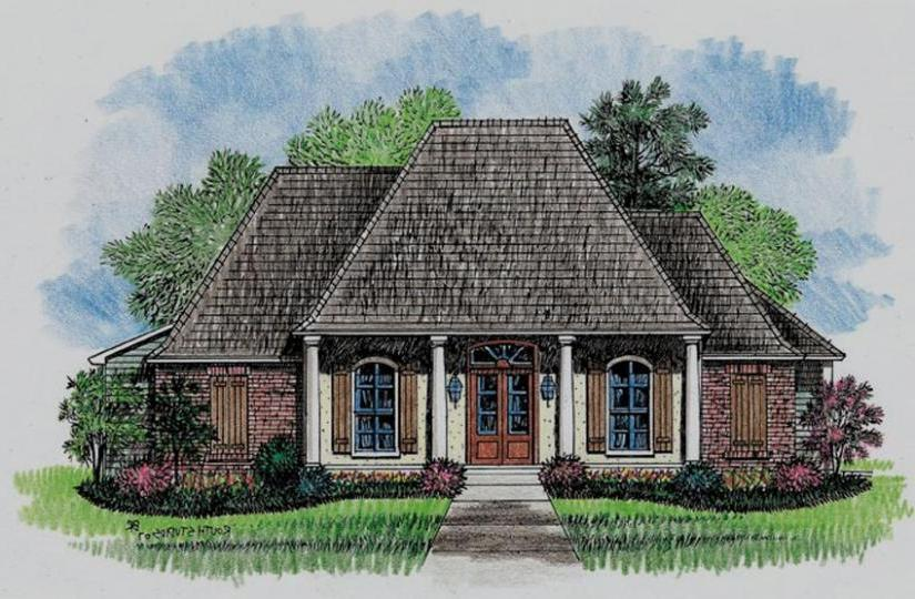 653485 3 bedroom 2 5 bath beautiful acadian style house plan