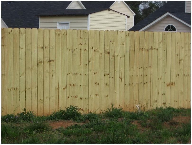Privacy Fence Stockade Photos