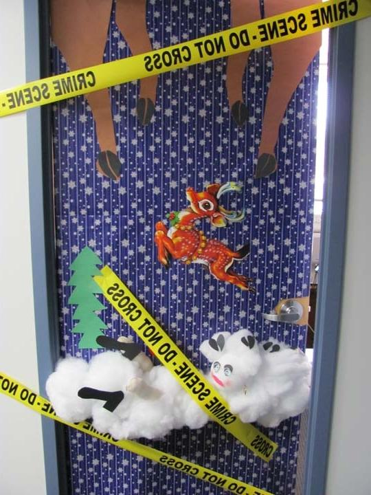 Holiday Office Door Decorating Ideas Photos