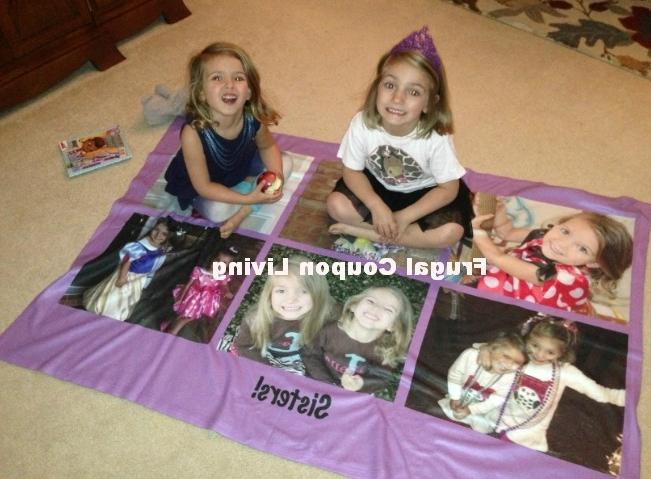 Walgreens Personalized Photo Blankets