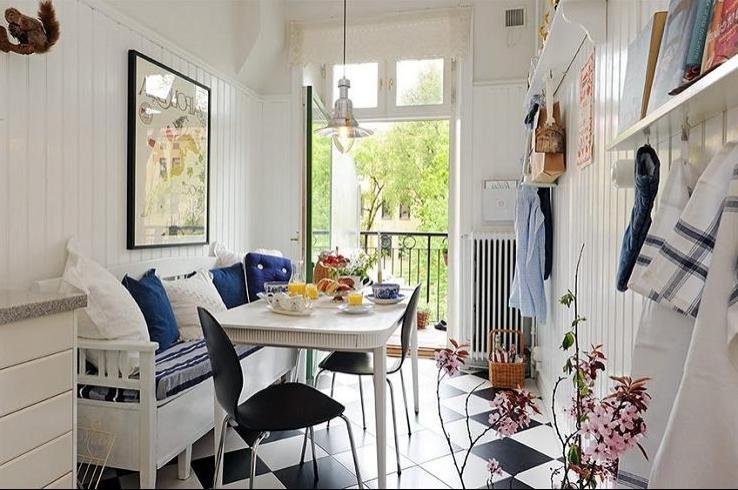 Кухня и балкон вместе фото.