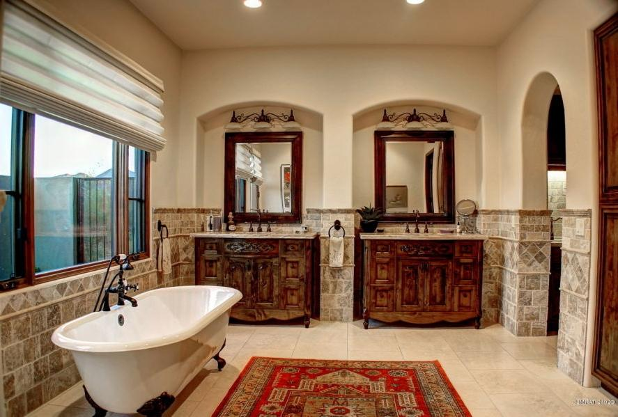 Tuscan style bathrooms photos