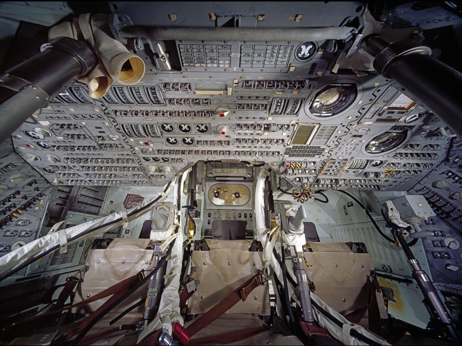 Apollo Command Module Interior Photos