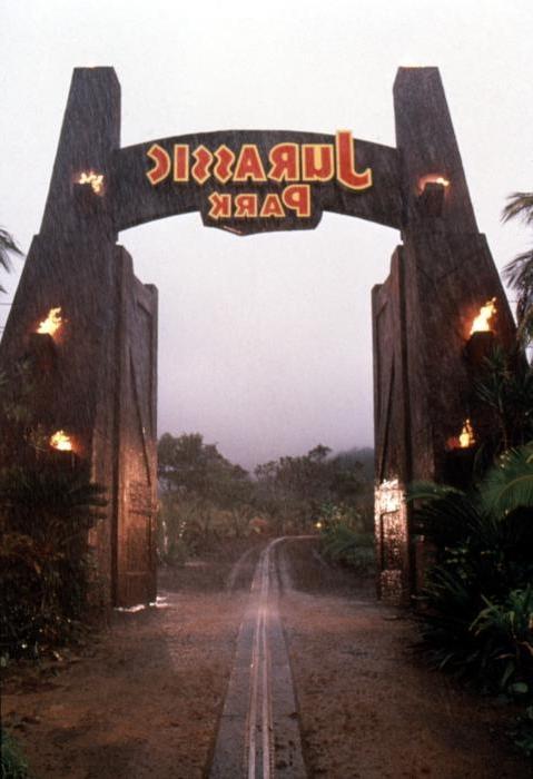 Jurassic Park Gate Photos