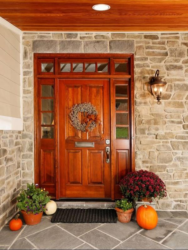 ... Amazing And Modern Exterior Doors Design Ideas With Red...