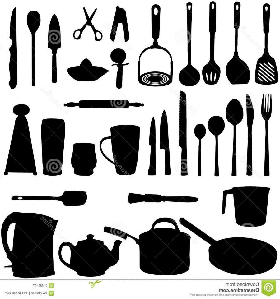 Collection Of Various Kitchen Implements, Gadgets, Utensils And.