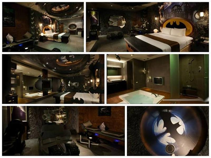 Batman Themed Bedroom Ideas, this remind me of sheldon cooper......