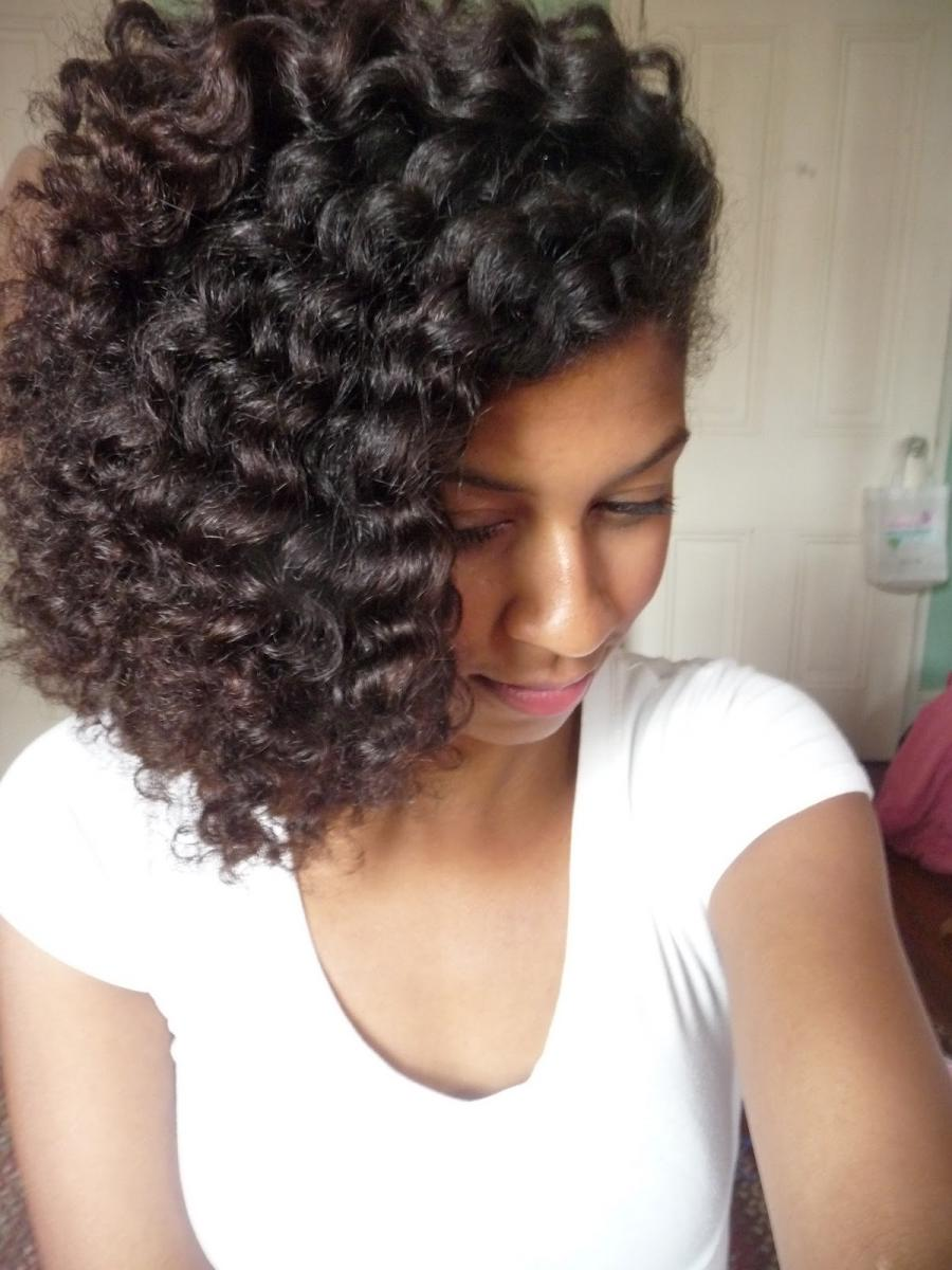 natural hair, twist out, curly hair, styling, around the way...