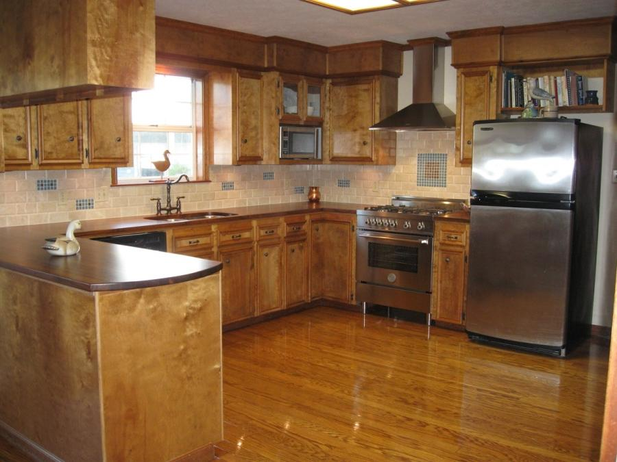 Photos of ranch style kitchens for Kitchen floor remodel ideas